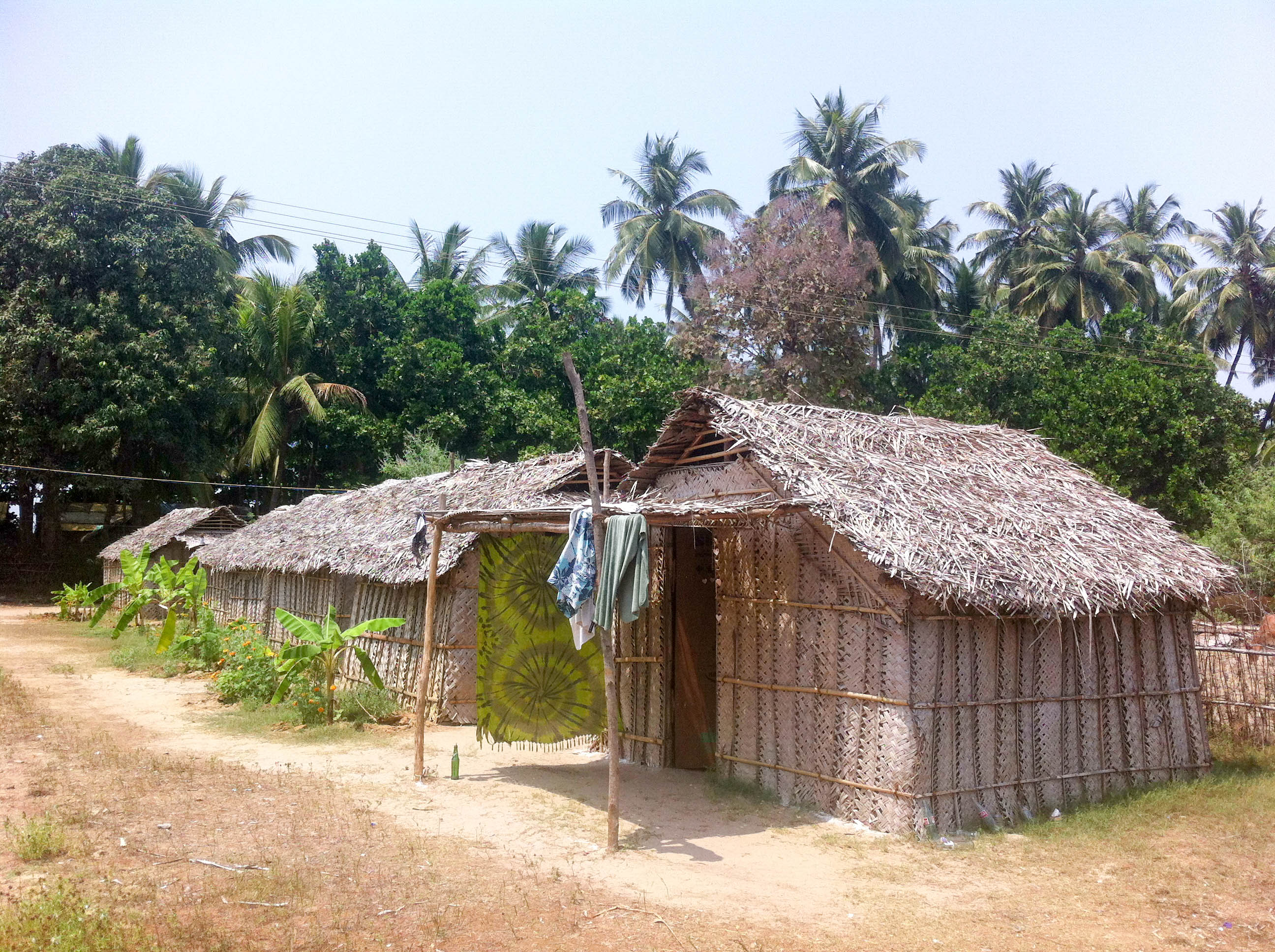 Hut on Kudle Beach, Gokarna
