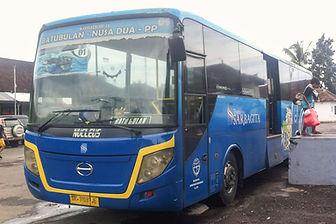 Kuta tu Ubud for cheap Sarbagita bus