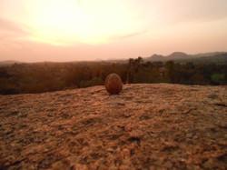 Sunset on Hemakuta Hill