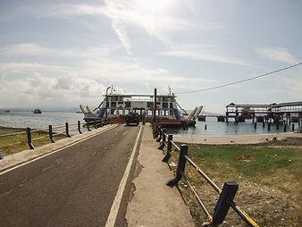 Trajekt z Bali na Jávu