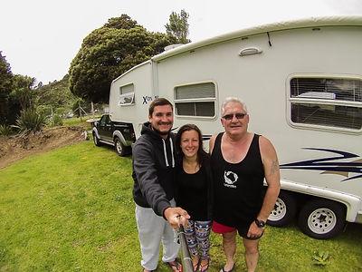 Tapu Novy Zeland s rybarem