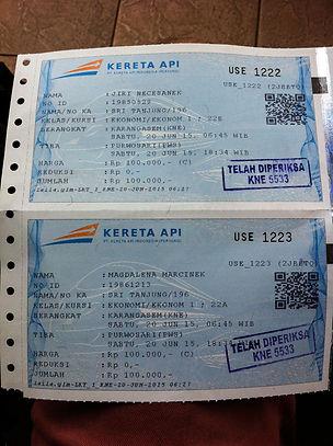 Train ticket Karangasem - Solo