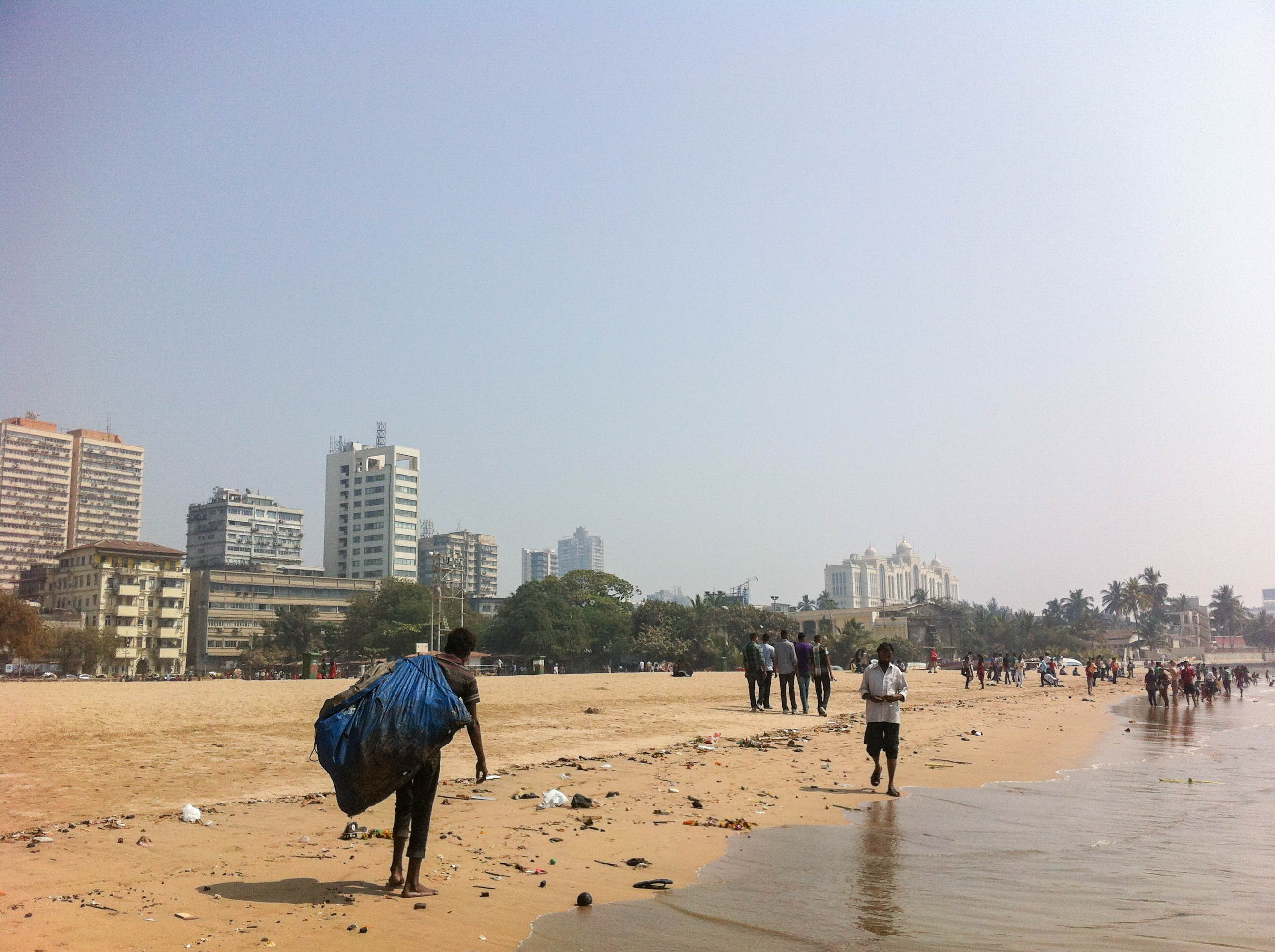 Pláž Girgaon Chowpatty, Mumbai