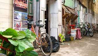 Mass tourism Gili Islands Indonesia