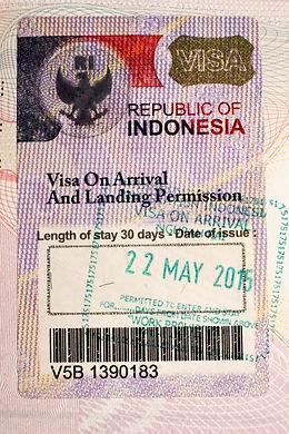 Prodlouzeni turistickeho viza na Bali
