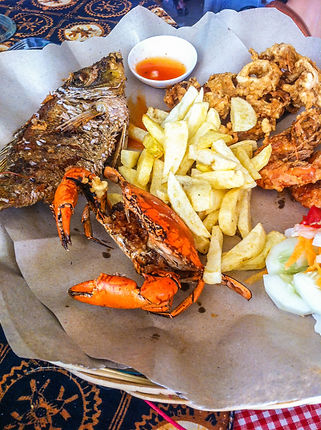 Indonéská kuchyně: See Food Basket