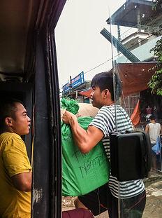 Land crossing of Vietnam-Lao Boarder