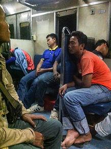Train 78 Nong Khai - Bangkok - 3. class