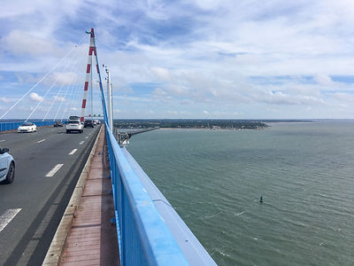 Backpacking.cz: EV6 - Pont de St. Nazaire