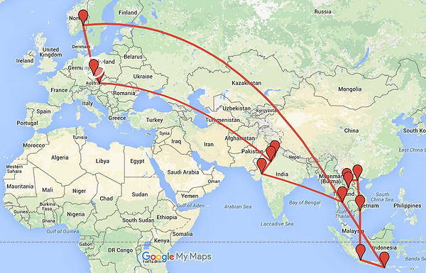 Half-year low-cost traveling in SE Asia for 4100 USD
