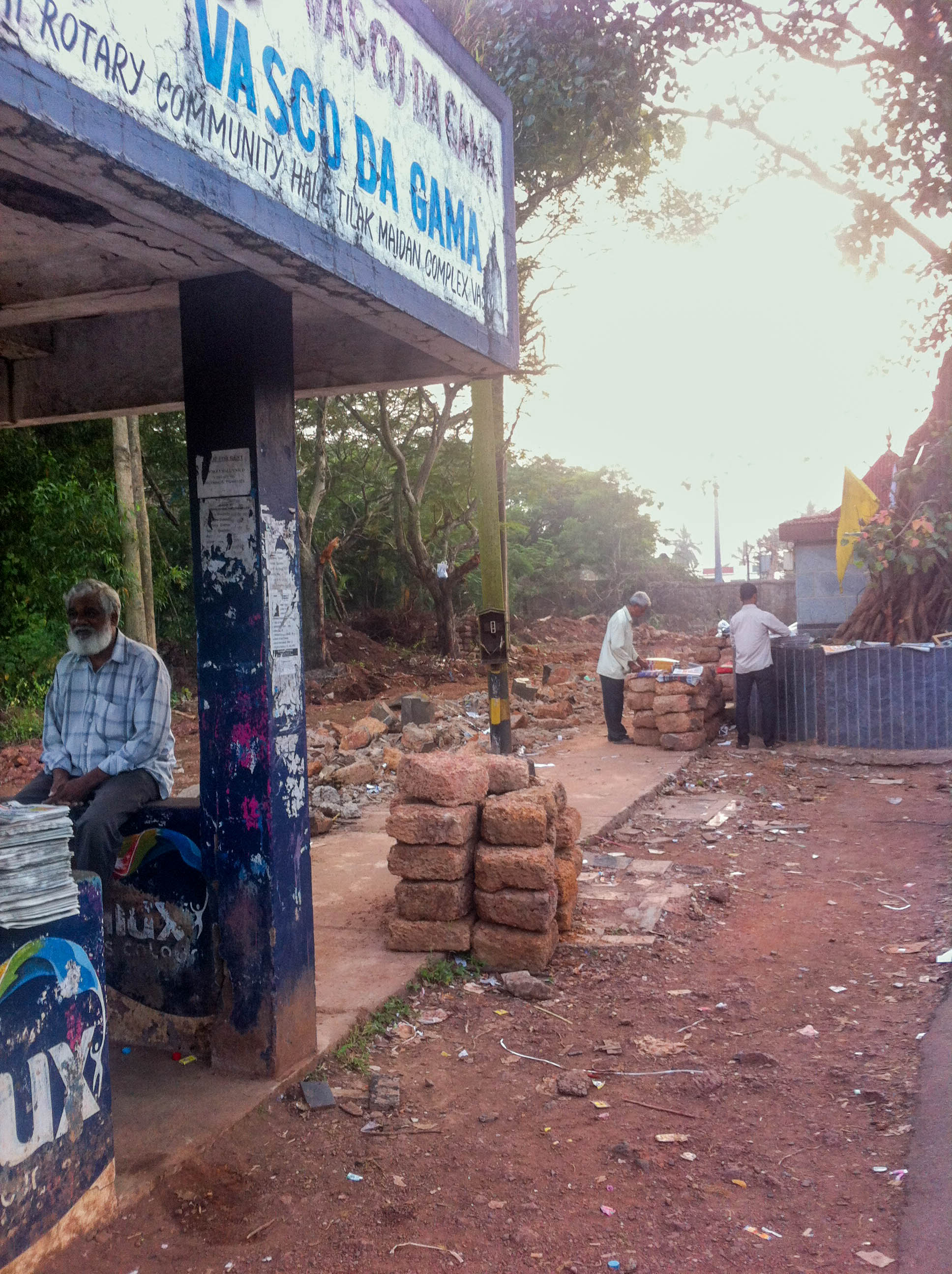 Chicalim Junction Bus Stop, Goa
