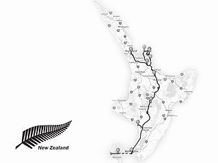 New Zealand Working Holiday - North Island Itinerary