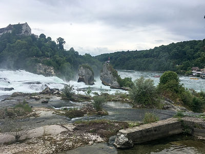 Backpacking.cz: EV6 - Neuhausen Rheinfall