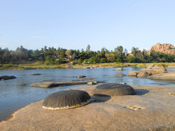 Tungabhadra river, Hampi