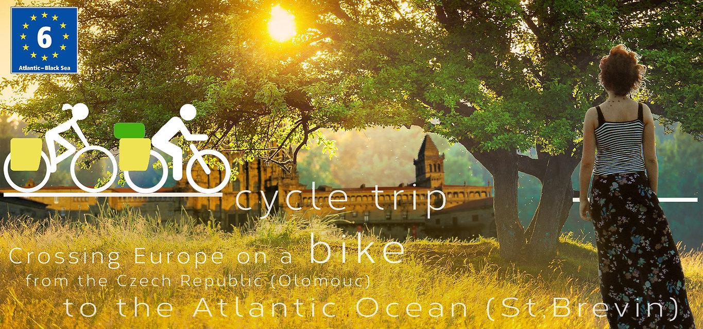 Backpacking.cz: Eurovelo 6 bike tour