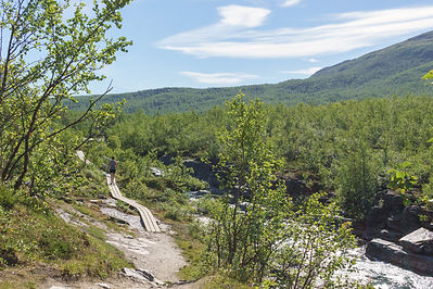 Backpacking.cz - Abisko Lapland Norrbotten Kings Trail