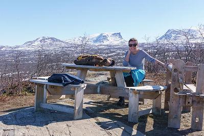 Backpacking.cz - Abisko Lapland Norrbotten Stor Nabben