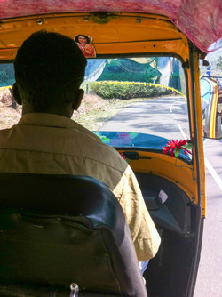 Náš rikšák, Munnar, Kerala