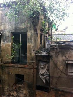 Výhled z hotelu, Kalkata