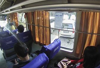 Bus Damri z Gambir na letiště, Jakarta
