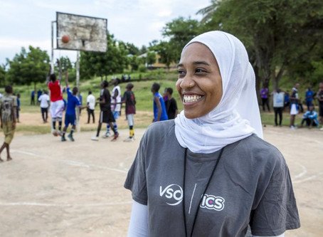 Youth volunteer overturned the ban on hijabs in basketball