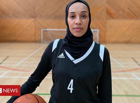 Asma Elbadawi on ending basketball's hijab ban BBC NEWS