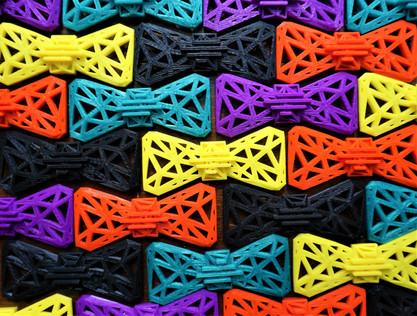Amnova 3D Printed Bow Ties