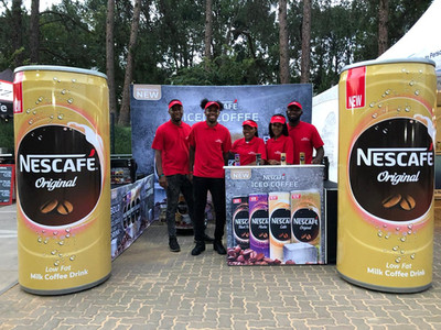 Nescafe Can Promotion Project