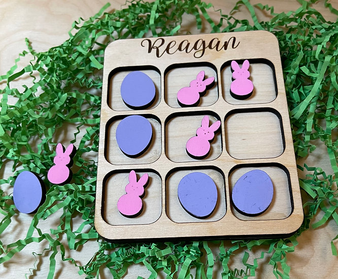 Small Personalized Tic Tac Toe Game