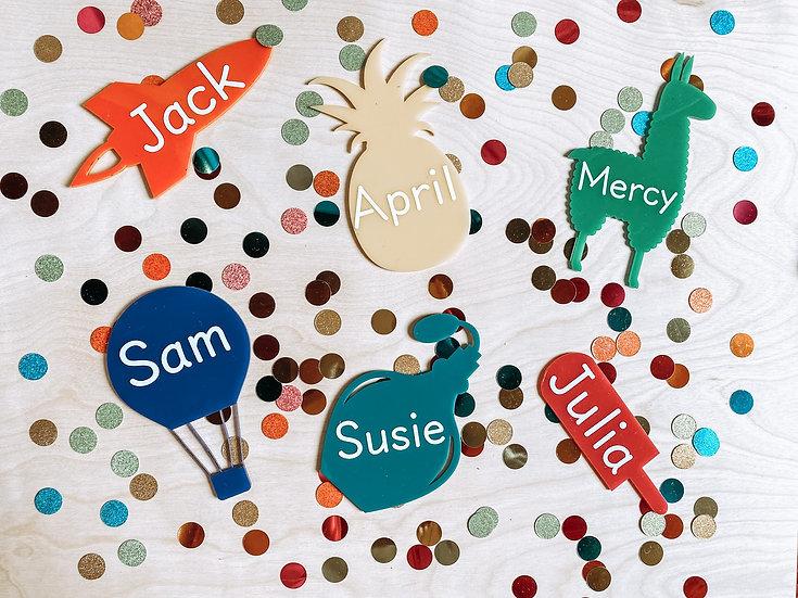 Kids Name Tags