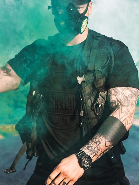 Füstbomba fotózás