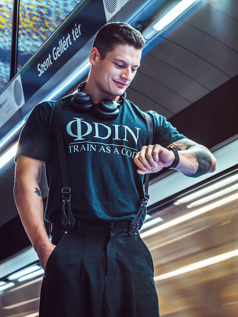 Odin wear fotózás