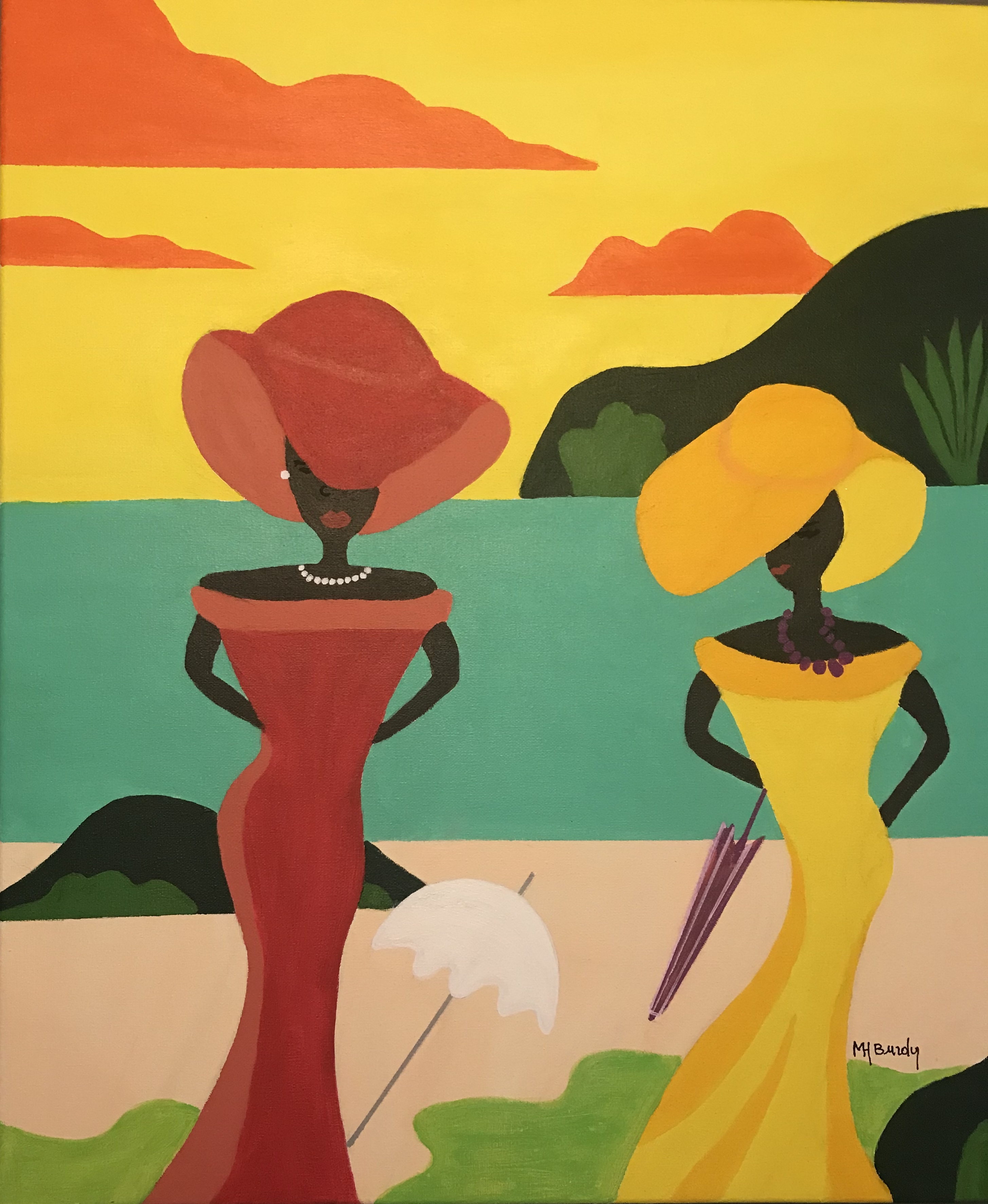 Les Demoiselles de Guadeloupe