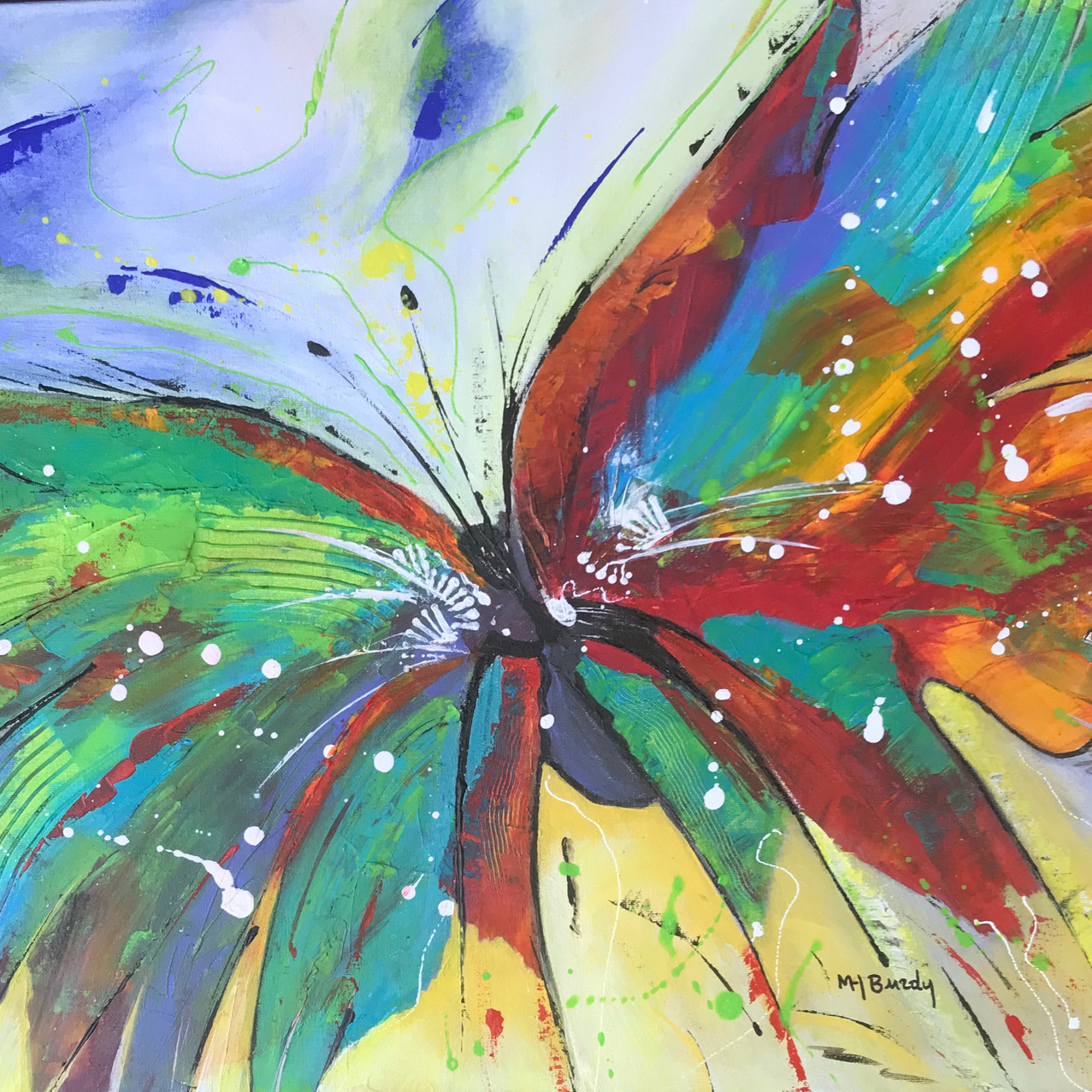 Papillon 50x60