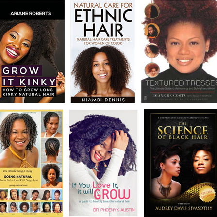 Top 6 Natural Hair Books You Must Read