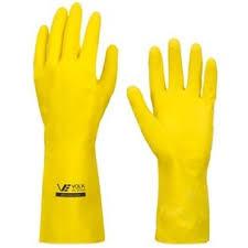 Luva amarela