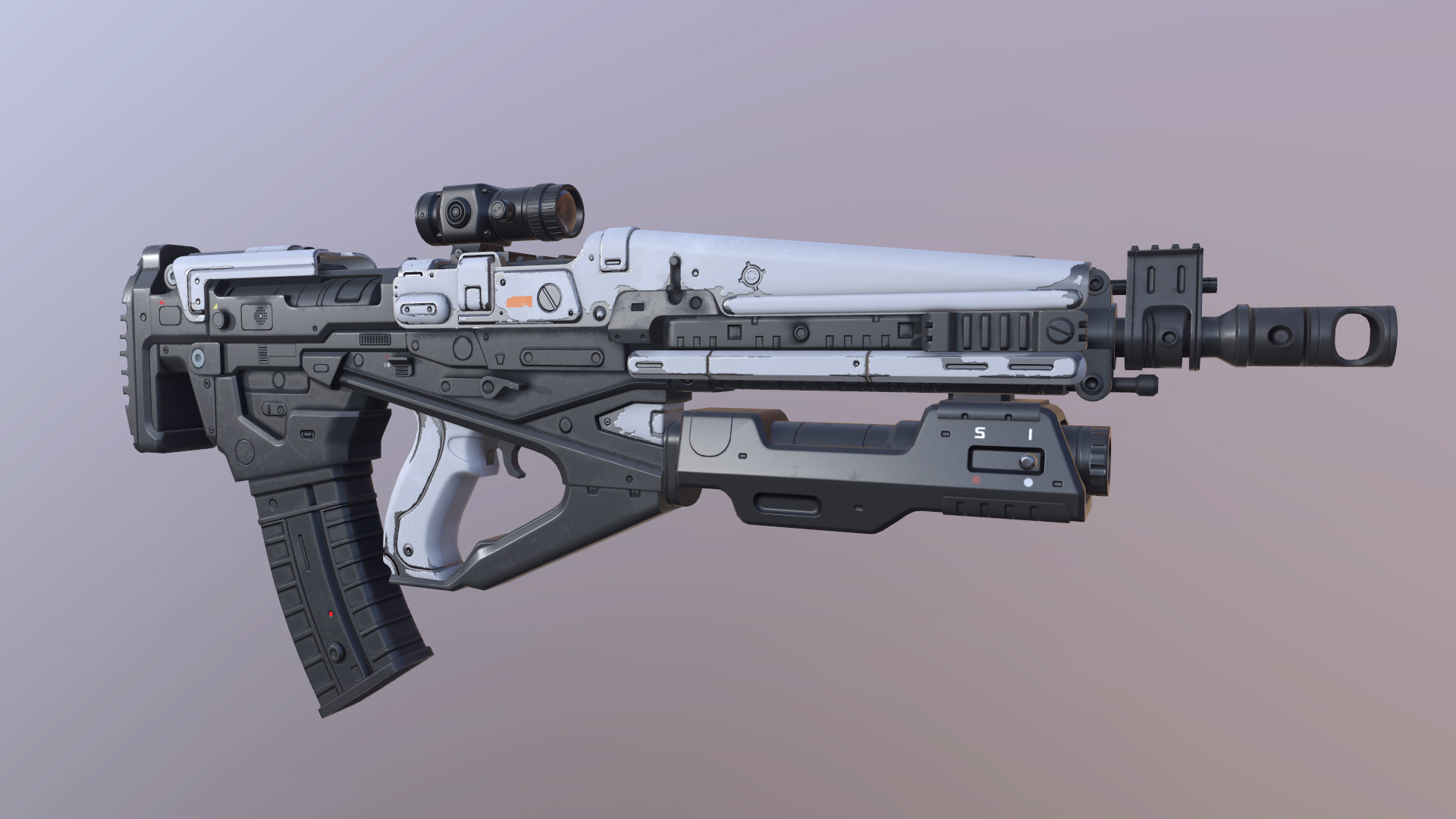 Rifle Destiny Assault