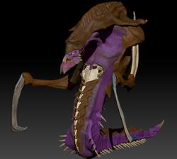 Hydralisk 3D Model