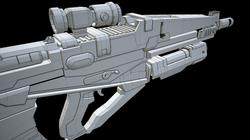 Rifle Wireframe