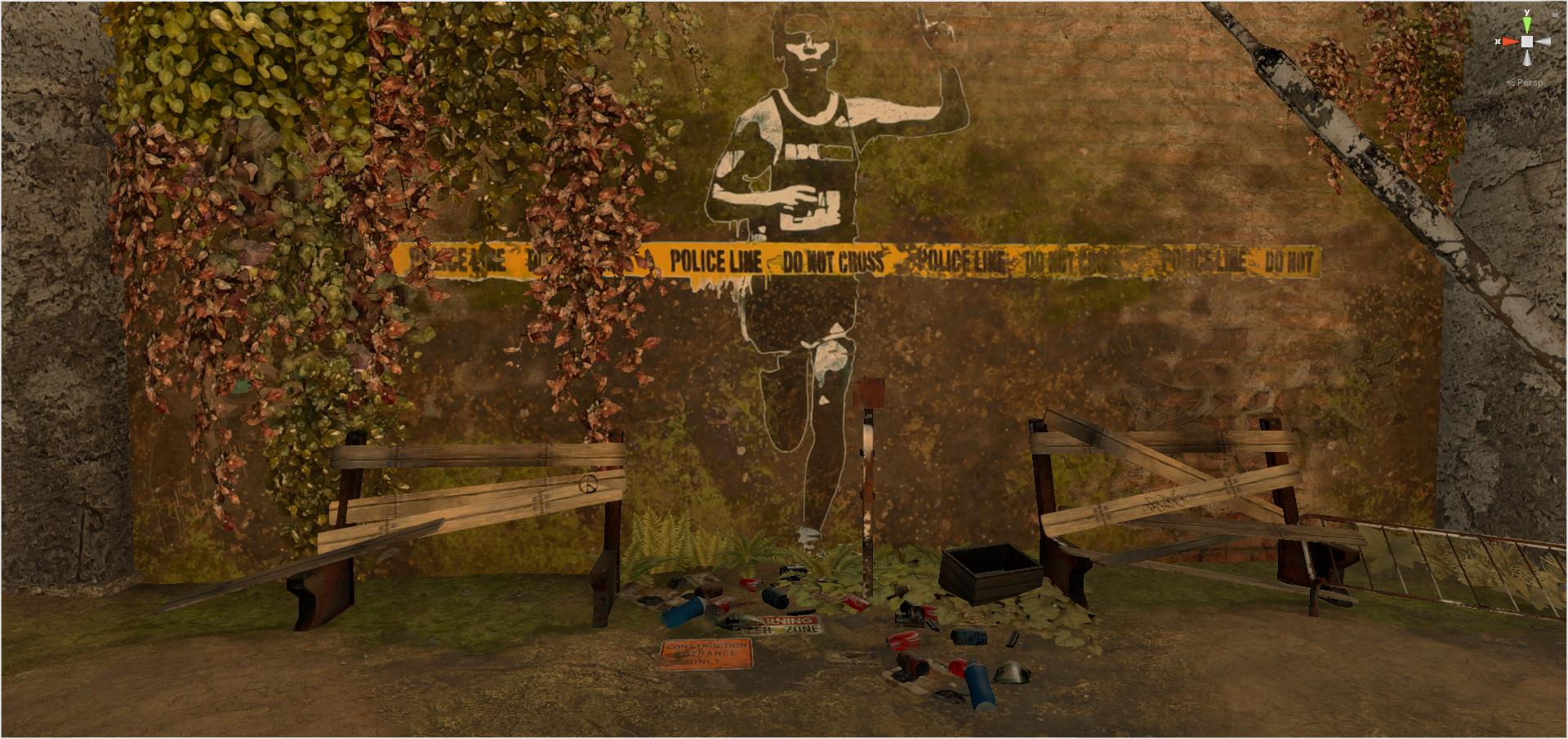 FPS Game Unity Scene