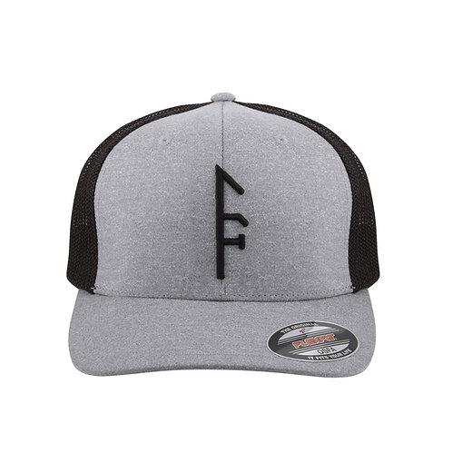 Gray Flex-Fit >> Black Vector