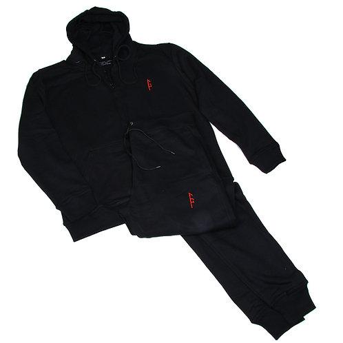 Black Vector Sweat Suit