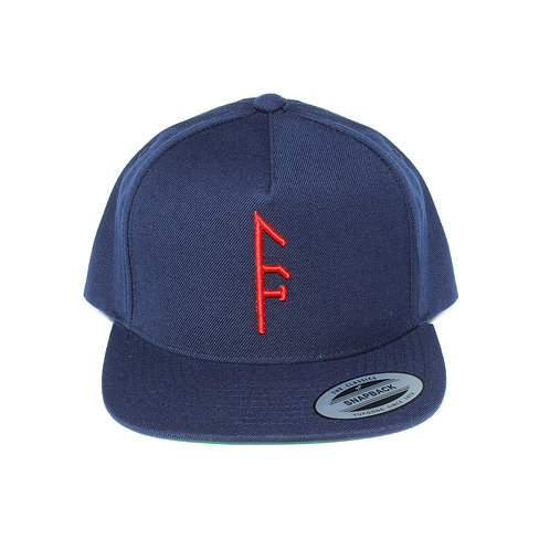 Blue Vector Up Snapback