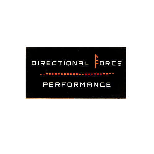 Directional Force PVC Patch