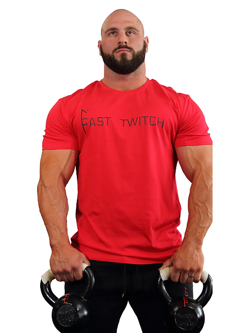 Red Fast Twitch Tee