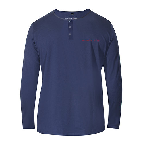The Henley - Blue