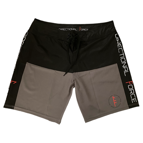 Marauder Board Short-Black/Gray