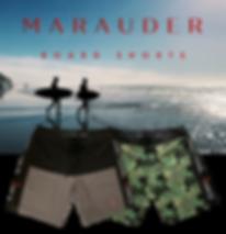 Marauder Board Shorts