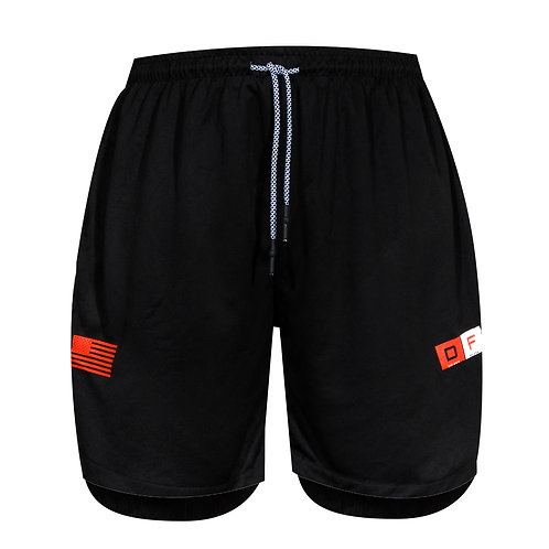 Dux Overlay Shorts - Black