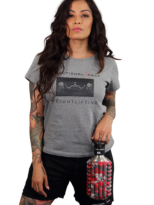 Women's Directional Force Weight Lifting Tee